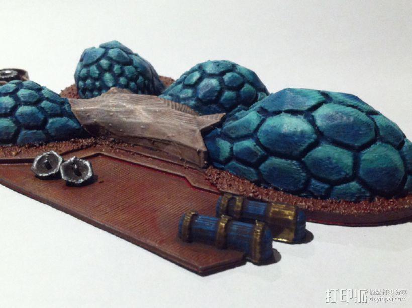 火星基地 3D模型  图4