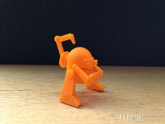 LEO 机器人 3D模型  图1