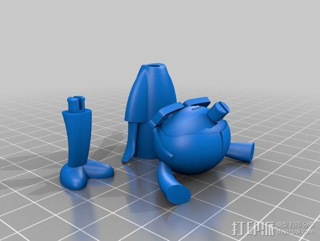 Carla人形玩偶 3D模型  图2