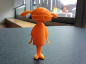 Carla人形玩偶 3D模型