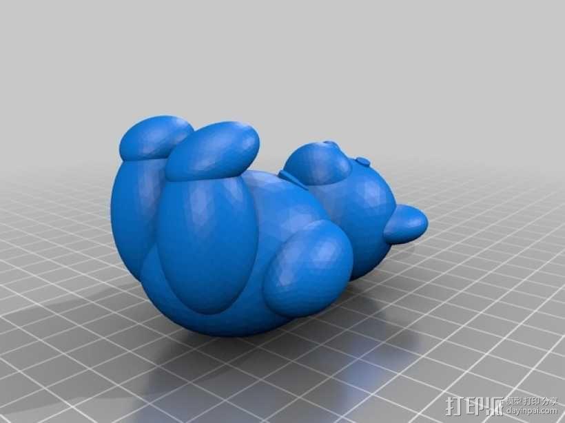 维尼熊  3D模型  图2