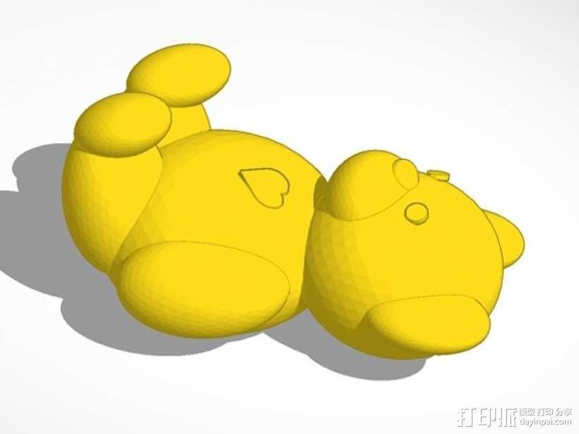 维尼熊  3D模型  图1