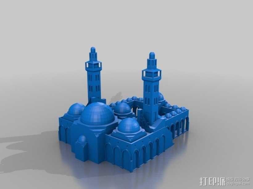 扎耶得清真寺 3D模型  图1