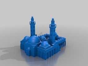 扎耶得清真寺 3D模型