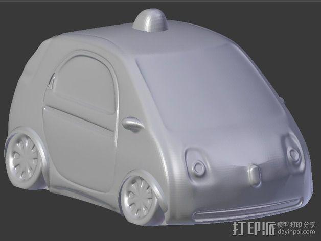 谷歌自驾车 3D模型  图2