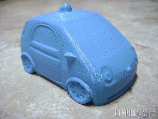 谷歌自驾车 3D模型  图1