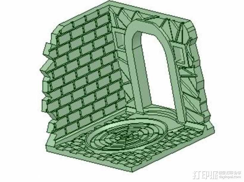 门道  3D模型  图1