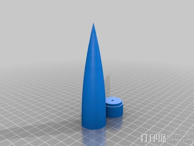 火箭鼻锥  3D模型  图2
