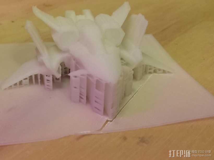 星际争霸Mercenary Viking飞机模型 3D模型  图5