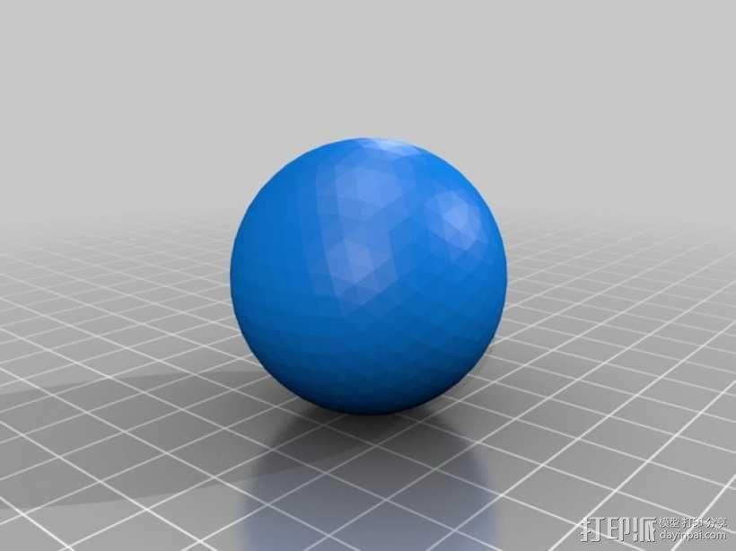 鹰爪和小球 3D模型  图4