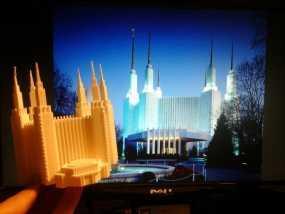 华盛顿寺庙 3D模型
