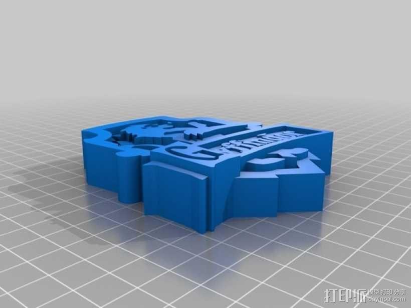 格兰芬多徽章 3D模型  图1