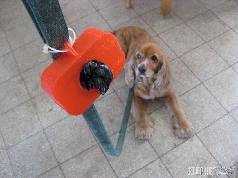 狗狗排便器 3D模型  图1