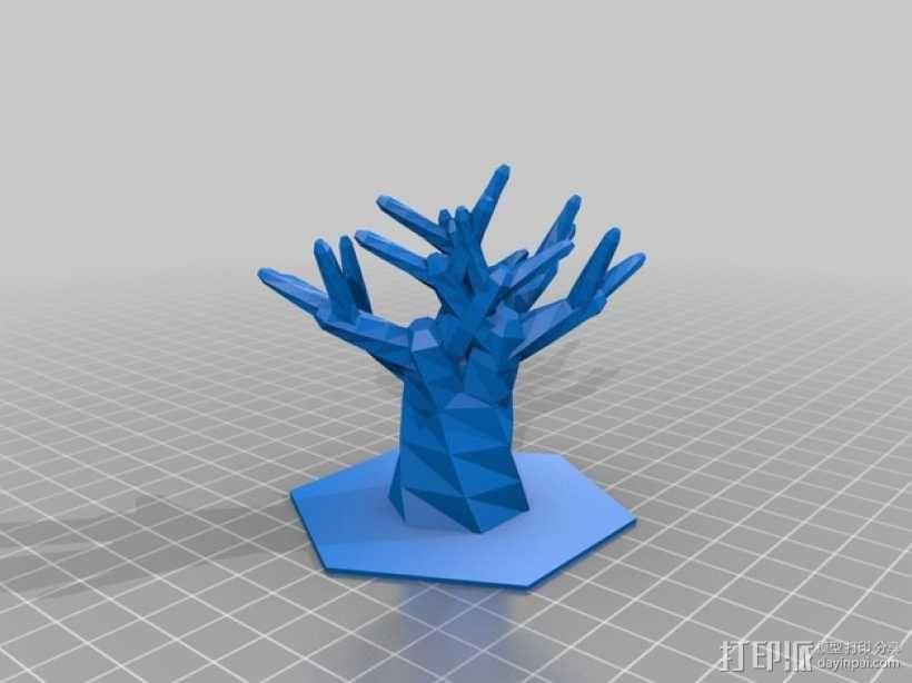 树  3D模型  图1