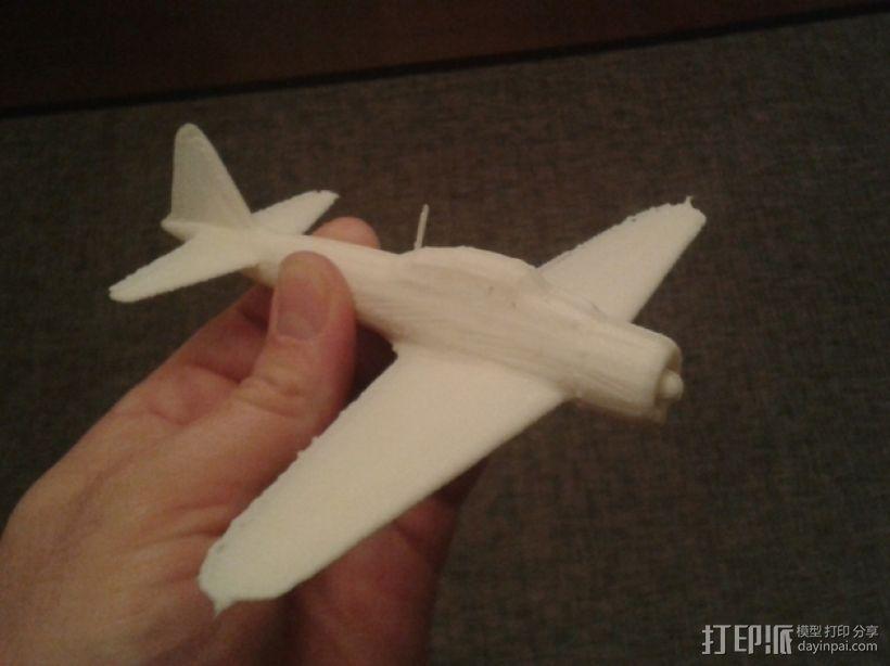 Zero A6M战斗机  3D模型  图2