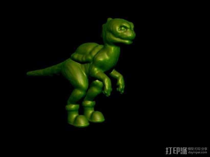 耀西小恐龙 3D模型  图2