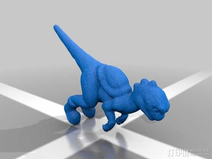 耀西小恐龙 3D模型  图7