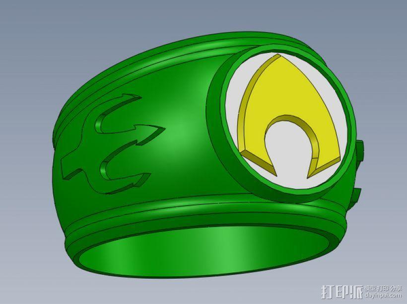 正义联盟指环 3D模型  图1