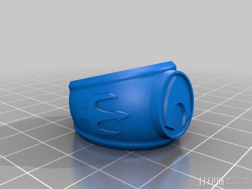 正义联盟指环 3D模型  图2
