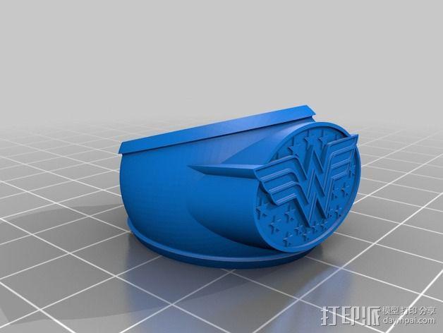 神奇女侠指环 3D模型  图2