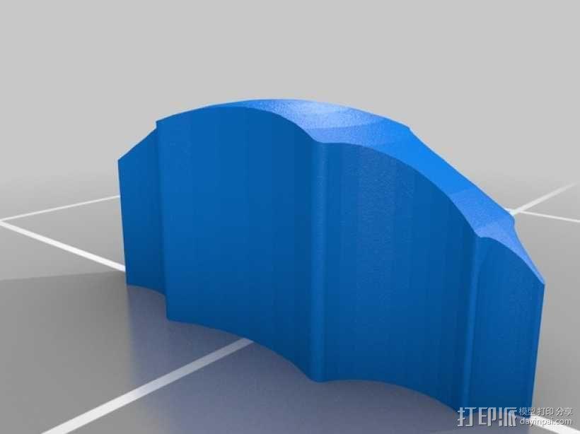 霸王龙头部肌肉组织 3D模型  图9