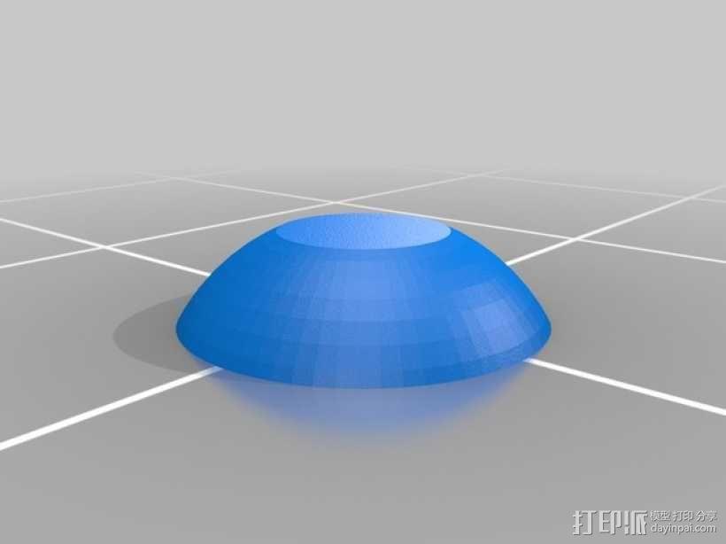 霸王龙头部肌肉组织 3D模型  图24