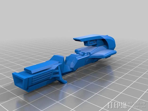 喷气自行车 3D模型  图2