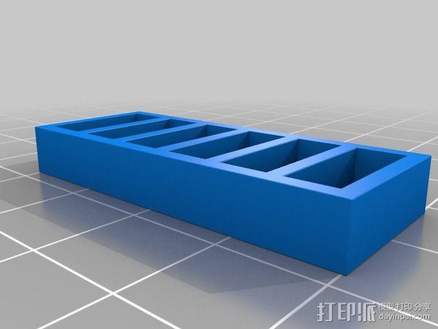 书橱 书架 3D模型  图6