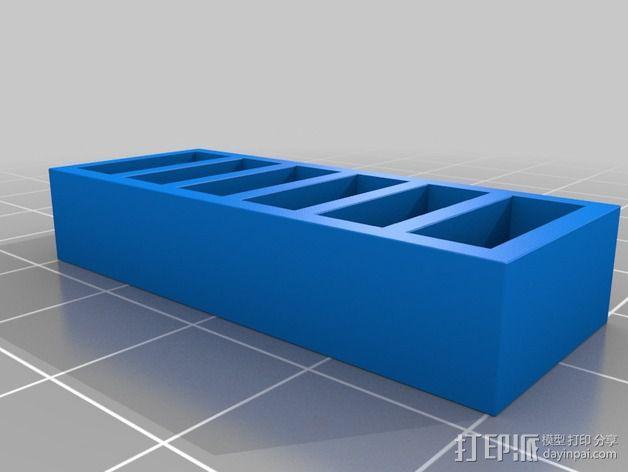 书橱 书架 3D模型  图5
