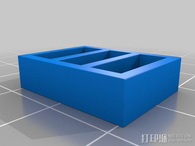 书橱 书架 3D模型  图7
