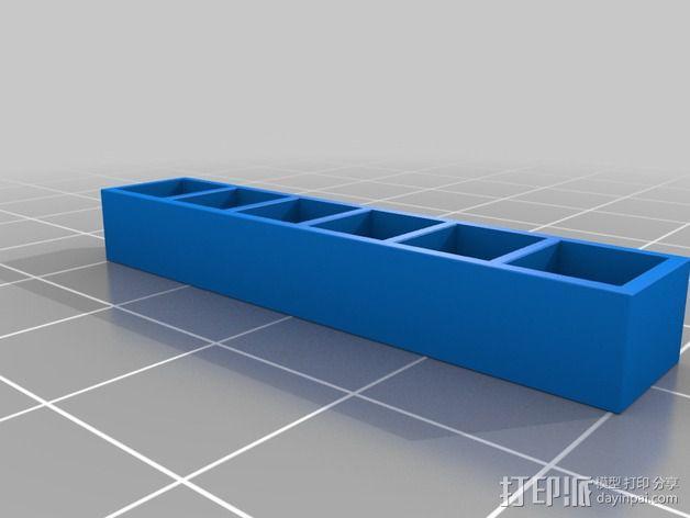 书橱 书架 3D模型  图8