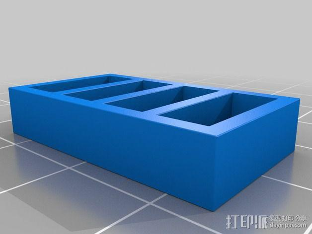 书橱 书架 3D模型  图11