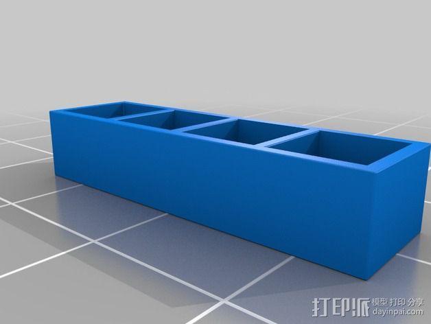 书橱 书架 3D模型  图13