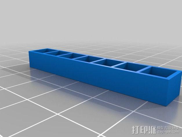 书橱 书架 3D模型  图12