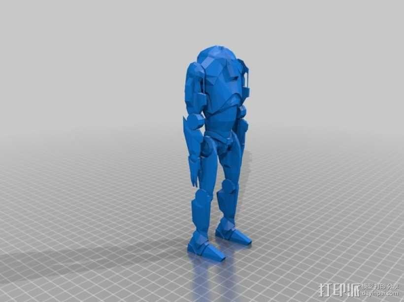 星球大战超级战士机器人 3D模型  图1