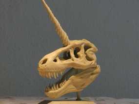 独角霸王龙 3D模型