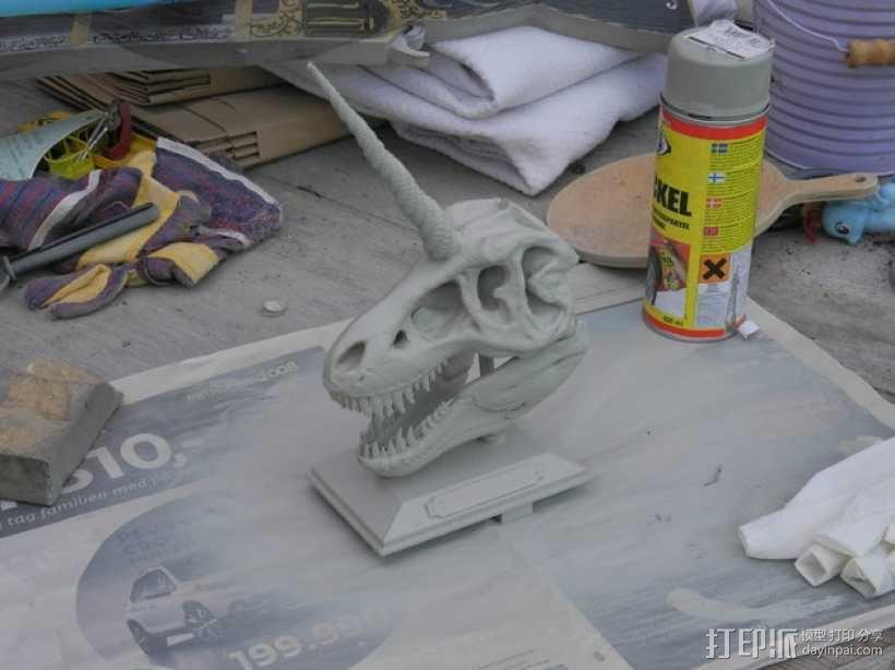独角霸王龙 3D模型  图14