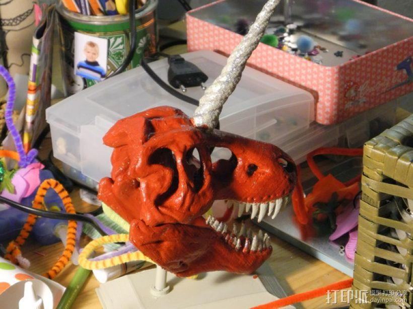 独角霸王龙 3D模型  图15