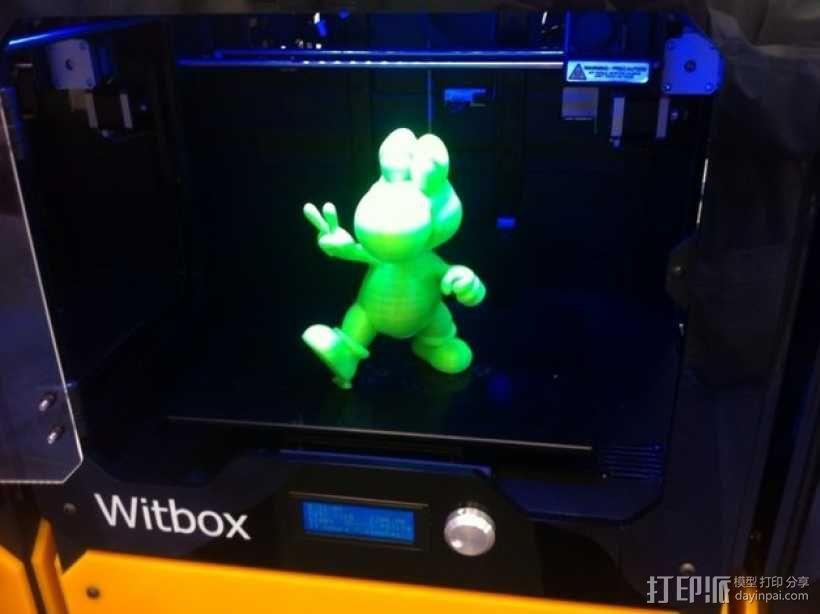 耀西小恐龙  3D模型  图1