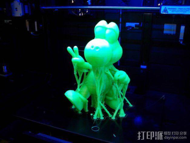 耀西小恐龙  3D模型  图5