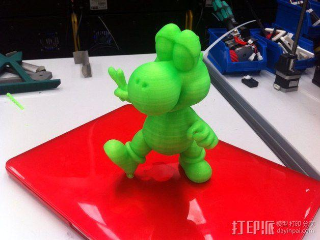 耀西小恐龙  3D模型  图6