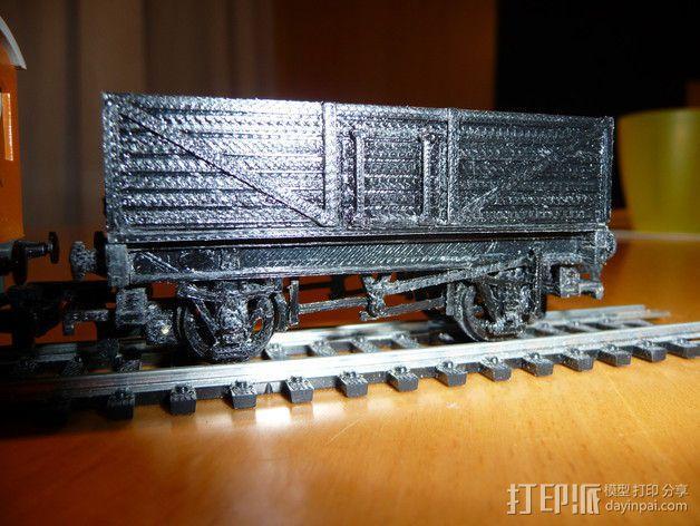 旧式货车 卡车  3D模型  图3