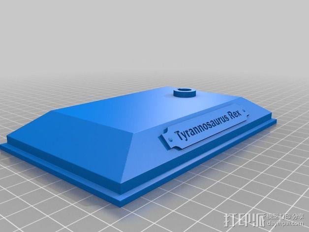 霸王龙头骨 3D模型  图5