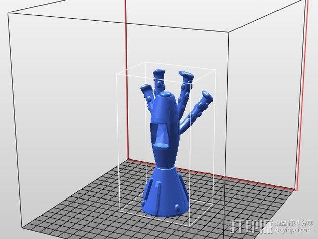 终结者外星人 3D模型  图1