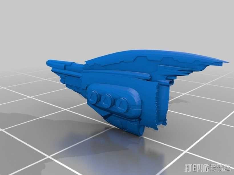 EVE Online星战前夜飞机模型 3D模型  图3