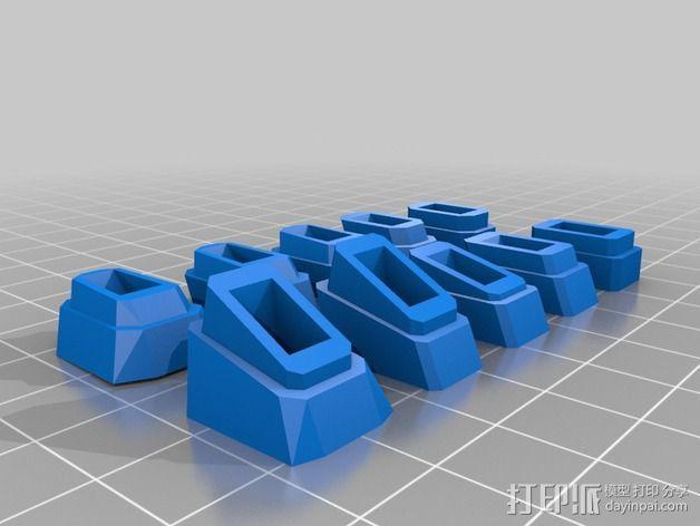 游标尺推进器 3D模型  图3