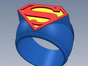 超人指环 3D模型
