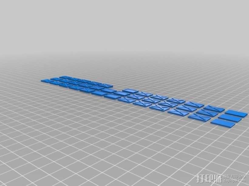 塑料仪表板 3D模型  图2
