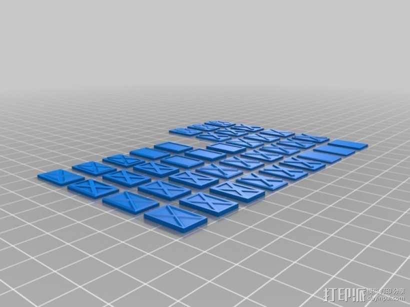 塑料仪表板 3D模型  图5