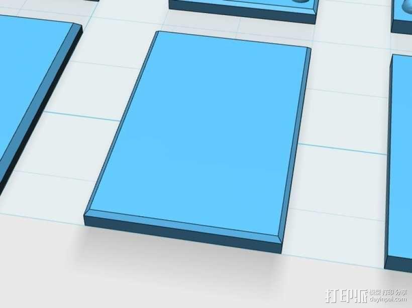 塑料仪表板 3D模型  图11